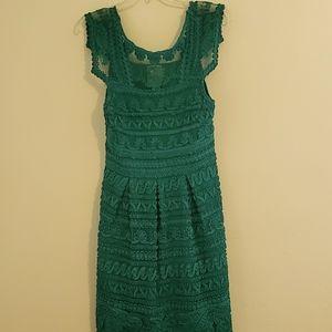 Yoana Baraschi Teal Summer Dress